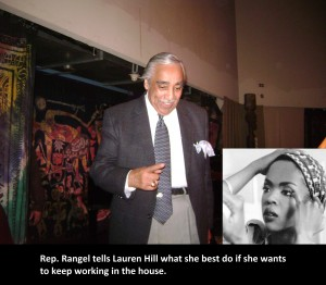 Charlie Rangel Plays His Role as Slavemaster